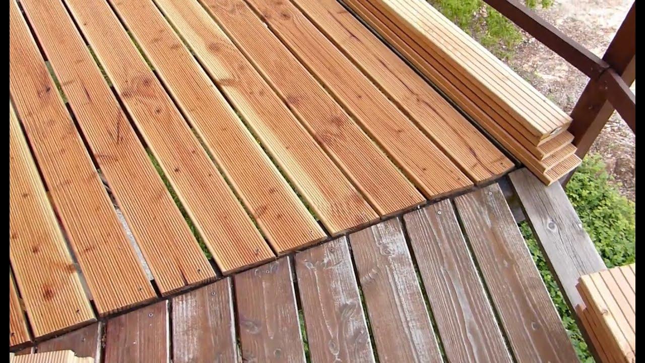 comment poser des lames de terrasse