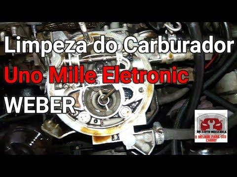 LIMPEZA DO CARBURADOR DO UNO MILLE E REGULAGEM