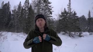 Wearing Wool Winter Camping