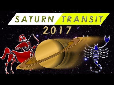 Saturn Transit Sagittarius 2017