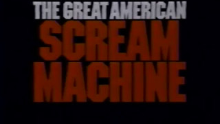 1989 Six Flags Great Adventure Great American Scream Machine Commercial