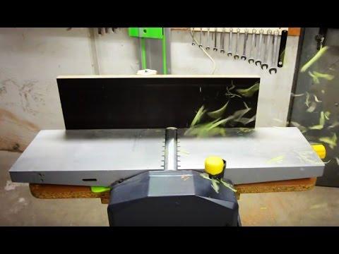 abricht dickenhobel modifikationen neuer anschlag einfache verbesserungen youtube. Black Bedroom Furniture Sets. Home Design Ideas
