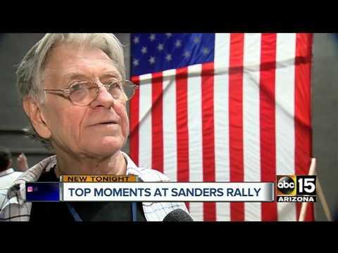 Bernie Sanders in Mesa for unity rally