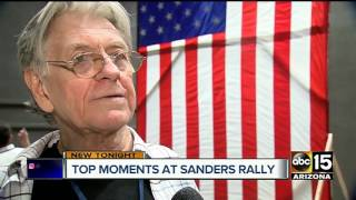 Bernie Sanders in Mesa for unity rally