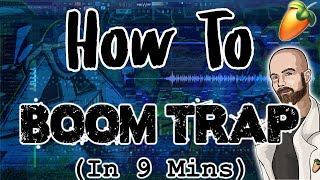From Scratch: A boom trap song in 9 minutes | FL Studio Tutorial