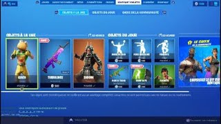 FORTNITE BOUTIQUE OF SEPTEMBER 12, 2019 - VOTE SKIN CHOICE