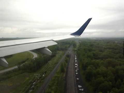 jetBLUE Flight #634 Landing in Rochester, NY (ROC) from New York's JFK Airport