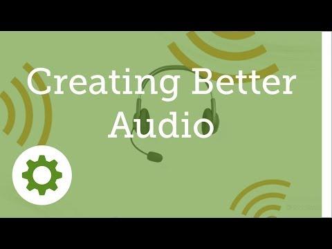 Camtasia for Mac 2 - #12: Create better audio: Mics, Recording, Audio FX