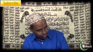 Sheikh Moussa Farah - 02 Judgement on the Zakah Refrainer - Somali