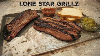 BBQ Brisket Recipe Cooked on 20 x 30 Smoker By Lone Star Grillz