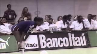 Vôlei Feminino - Pan de Havana 1991 - Fase 1 - Brasil x Cuba
