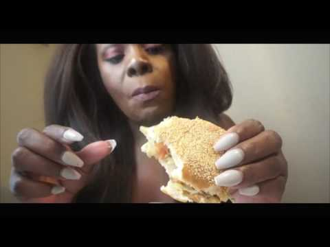 Mukbang Eating Show ASMR Chips Cookie/Milk Shake