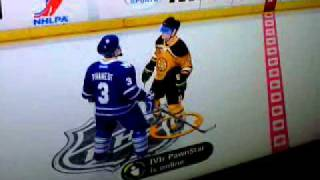 NHL 12- be a pro- fight Thumbnail