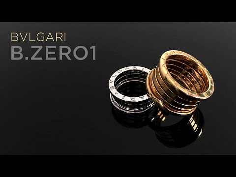 Bulgari B.Zero1 18kt Gold Rings Unboxing/Reveal