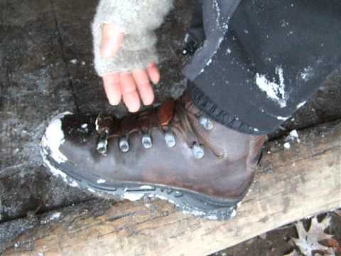 HAIX Nebraska Hiking Boots, Mount Rogers, Virginia.AVI