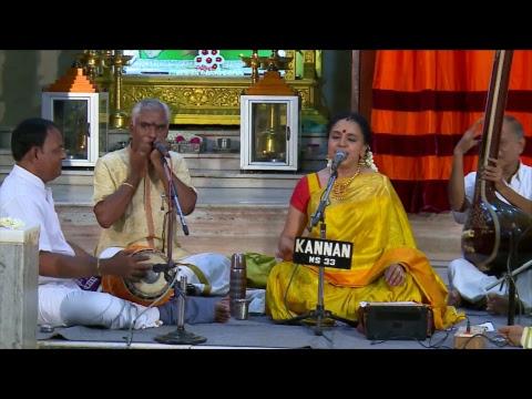 SRI SAI BABA TEMPLE MUSIC CONCERT BY SMT. SUDHA RAGUNATHAN, SHENOY NAGAR, CHENNAI