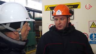 Калининская АЭС  Обход по охране труда