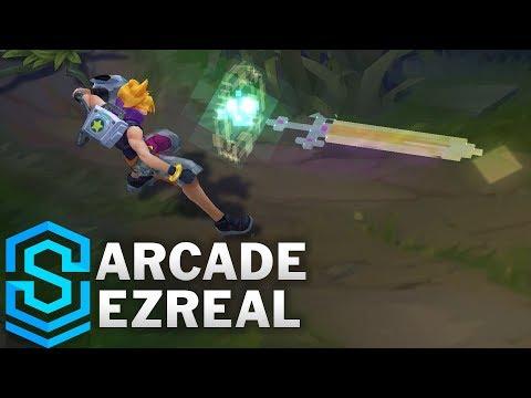Arcade Ezreal (2018) Skin Spotlight - League of Legends