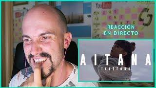 REACCIÓN a Aitana - TELÉFONO (videoclip) I edusanzmurillo