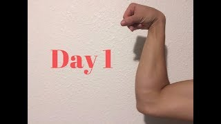 Working out forearms for 30 days straight. (Hand grip) 100 reps
