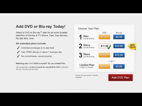 How to Add DVDs to Netflix Subscription