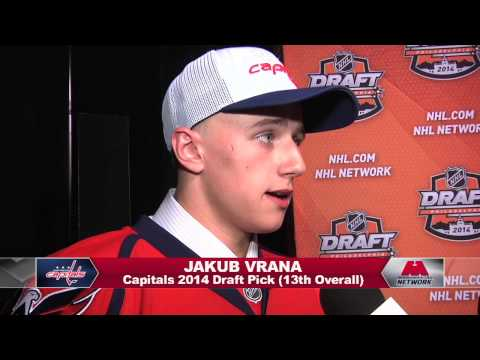 Jakub Vrana One-on-One from the NHL Draft 6/27/14