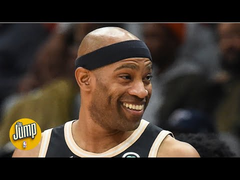 Vince Carter Will Be The First Player In NBA History To Play In 4 Different Decades | The Jump