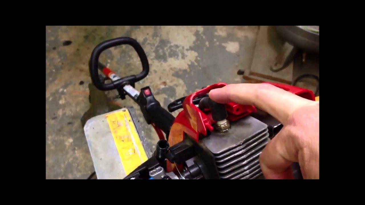 Troy-Bilt TB22EC trimmer won't start  Electric Starter Cover O-Ring