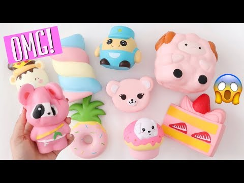 NEW AMAZING SQUISHY PACKAGE?!