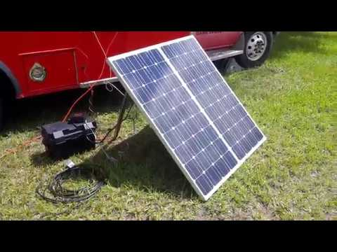 Solar power for GARS Field Day 2017