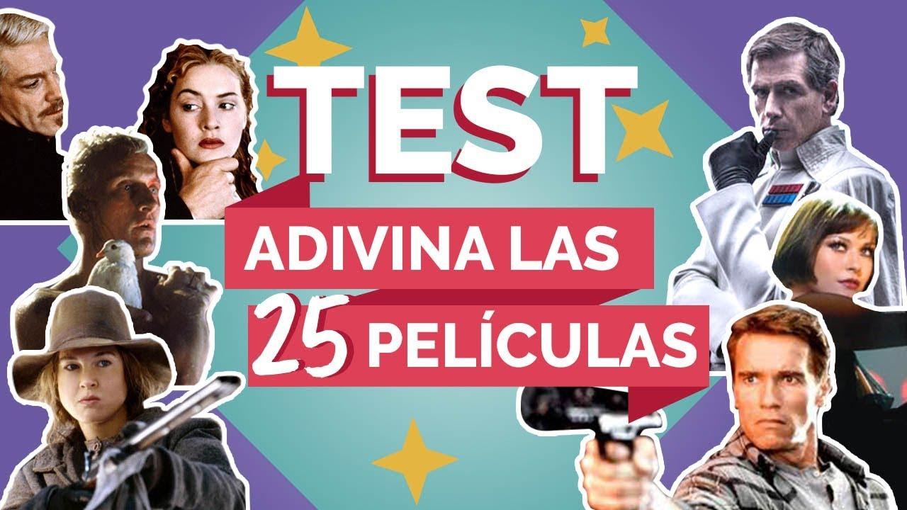 TEST | Adivina las 25 películas