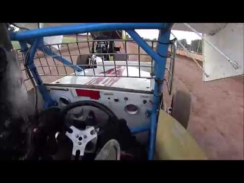 Onboard Plymouth Dirt Track 7/2/16 Sprint Car Heat, B Main