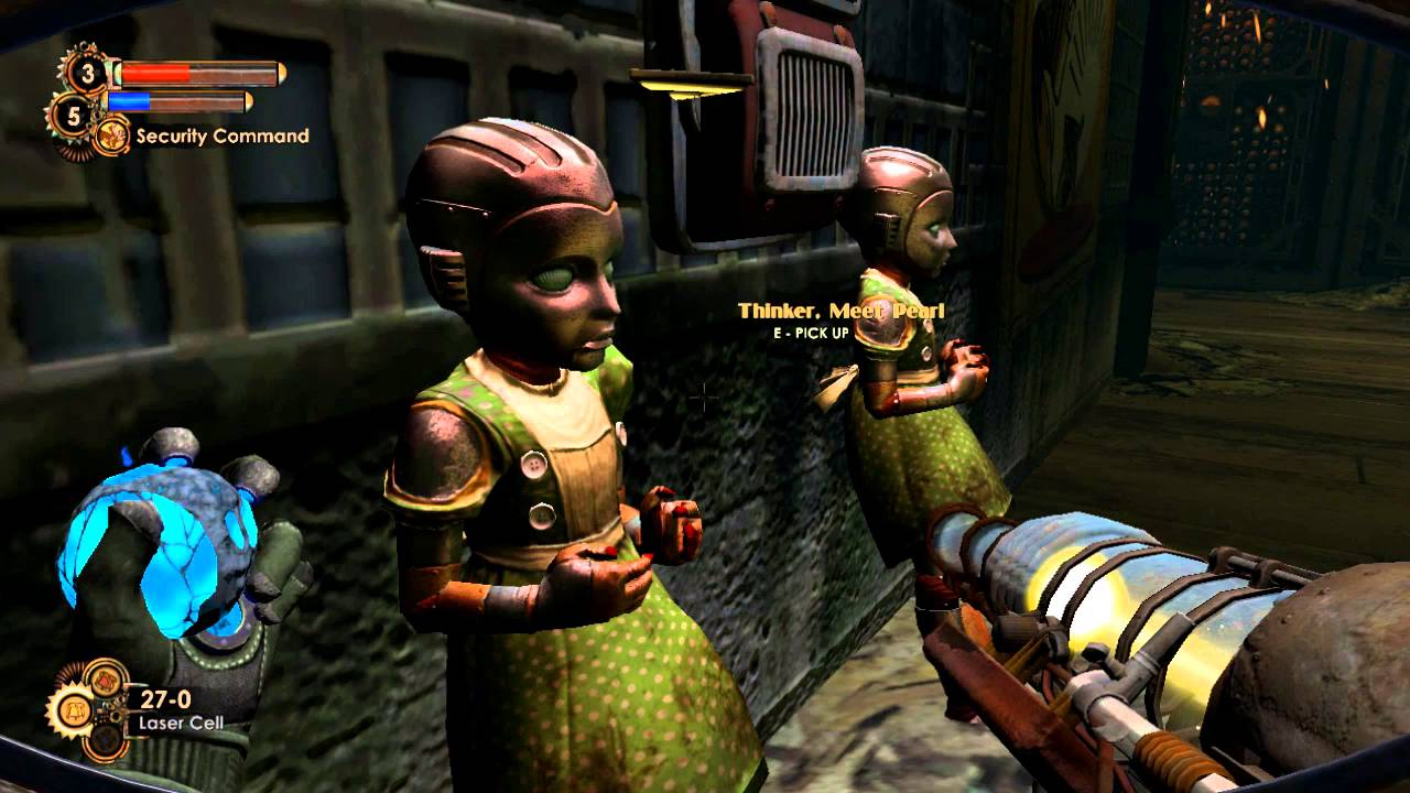 Bioshock 2 Minerva S Den 2 Robots For Your Every Need