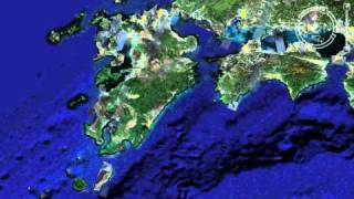 Mapping of Indians in Japan on Google Earth as in 2008
