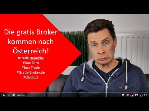 Kostenlose Broker kommen nach Österreich: Trade Republic, Just Trade, Revolut, Bux Zero und Revolut