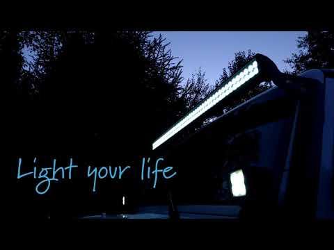 LED Light Bar - Jeep Wrangler (Top Gun Customz)