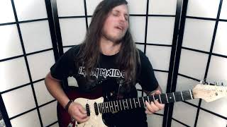 Iron Maiden - The TIME MACHINE - SENJUTSU (Full Guitar Cover + Solos) by André Mertens