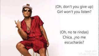 Bruno mars - Too good to say goodbye / español /inglés