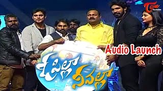 O Pilla Nee Valle Audio Launch || Krishna Chaitanya || Monika Singh