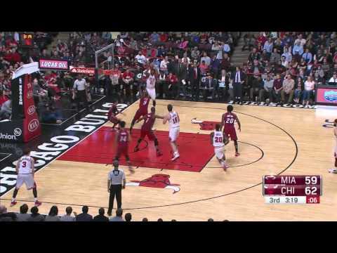 Miami Heat vs Chicago Bulls | January 25, 2016 | NBA 2015-16 Season
