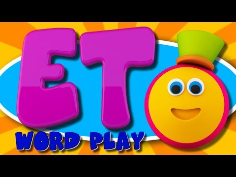 Learning Street With Bob The Train | ET Words | Word Play | Learning Videos For Children By Kids Tv