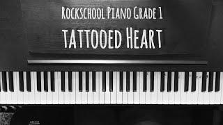 Rockschool Piano Grade 1 - Tattooed Heart (Ariana Grande)
