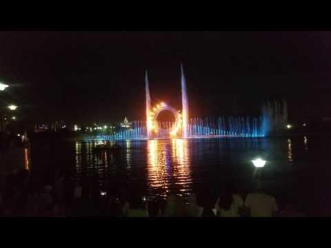 Astana 2016 Summer Last Night Light show