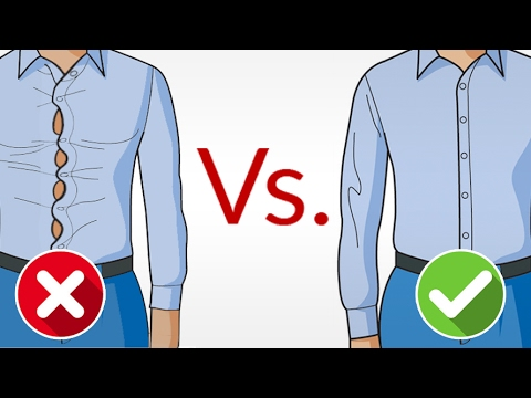 Look AWESOME in a Dress Shirt | Buy Perfect Fitting Shirts EVERY Time