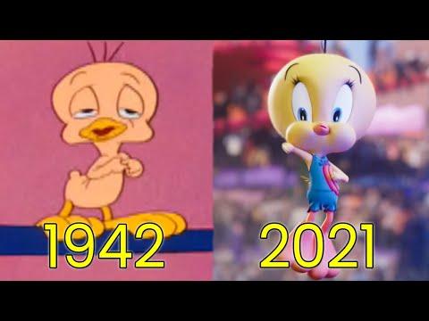 Evolution of Tweety Bird in Movies, Cartoons & TV (1942-2021)