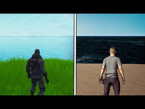 FORTNITE IS 100% BETTER THAN PUBG! (side By Side PROOF)