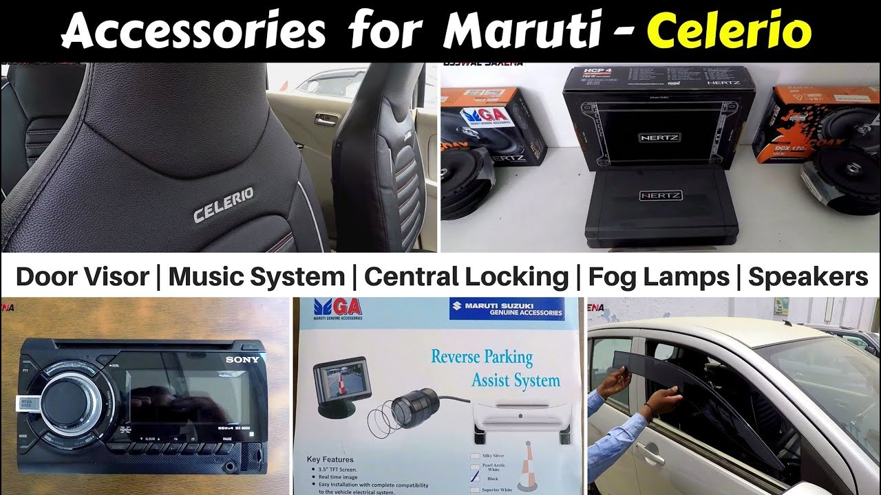 Accessories for Celerio with Prices  Hindi  Ujjwal Saxena - YouTube