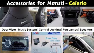 Accessories for Celerio with Prices | Hindi | Ujjwal Saxena