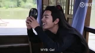 ENG SUB 陈情令 The Untamed BTS - Xiao Zhan & Wang Yibo