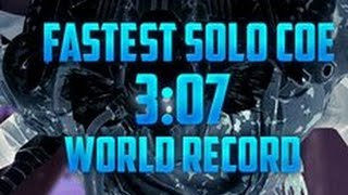 World's Fastest Solo Challenge Of Elders Speedrun [3:07]